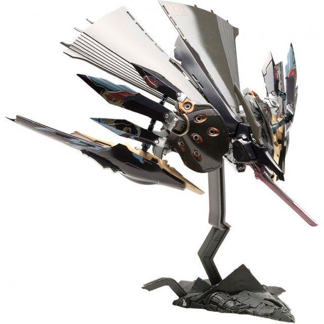Ikaruga 1/144 Scale Model Kit: Hitekkai Ginkei [Black] (Re-run)
