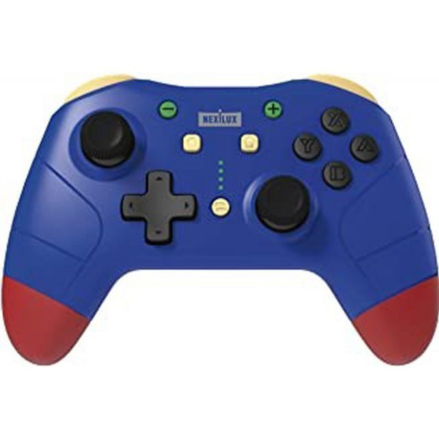NEXiLUX Wireless Controller for Nintendo Switch (Blue x Red)