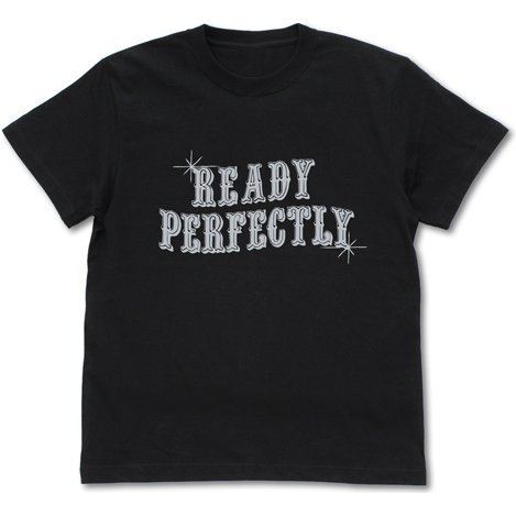 The Hero Is Overpowered But Overly Cautious - Ready Perfectly T-shirt Black (L Size)