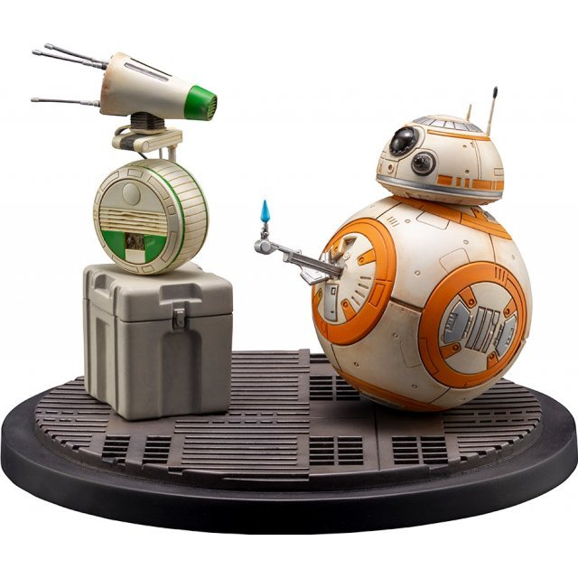 ARTFX+ Star Wars The Rise of Skywalker 1/7 Scale Pre-Painted Figure: D-O & BB-8