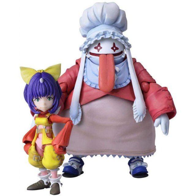 Final Fantasy IX Bring Arts: Eiko Carol & Quina Quen