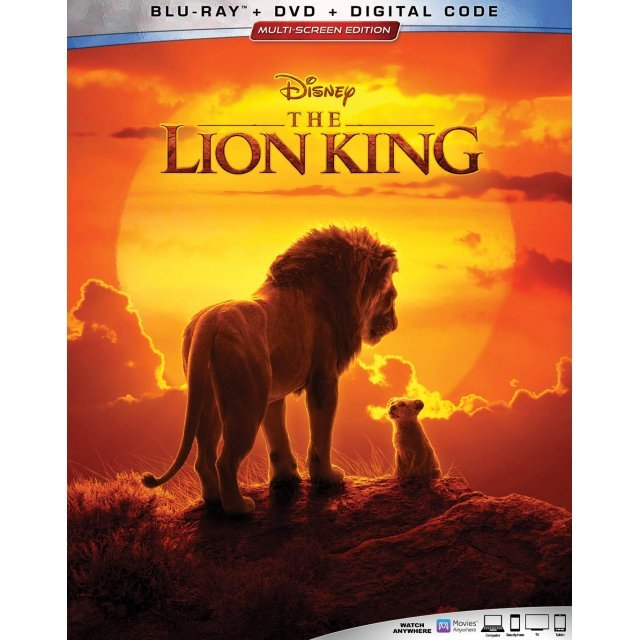 The Lion King [Blu-ray+DVD+Digital HD]