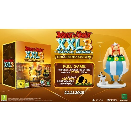 Asterix & Obelix XXL 3: The Crystal Menhir [Collector's Edition]