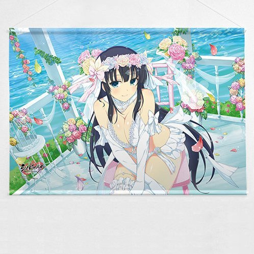 Shinobi Master Senran Kagura New Link B2 Wall Scroll: Ikaruga Wedding