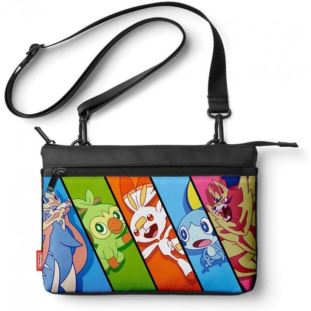 Sacoche Bag for Nintendo Switch Lite (Pokemon Sword and Shield)
