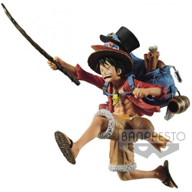 One Piece Three Brothers Figure A Monkey D Luffy