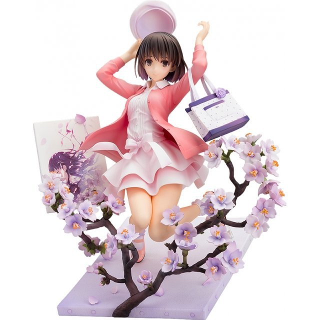 Saekano The Movie Finale 1/7 Scale Pre-Painted Figure: Megumi Kato First Meeting Outfit Ver.