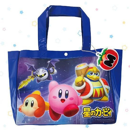 Kirby's Dream Land Beach Tote Bag: KBY-071