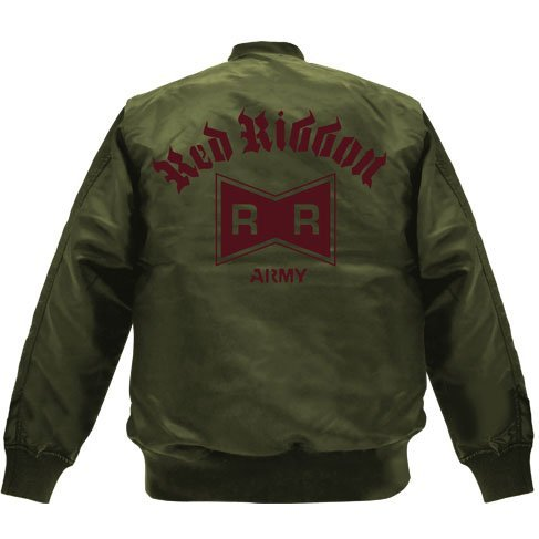 Dragon Ball Z - Red Ribbon Army MA-1 Jacket Moss (S Size)