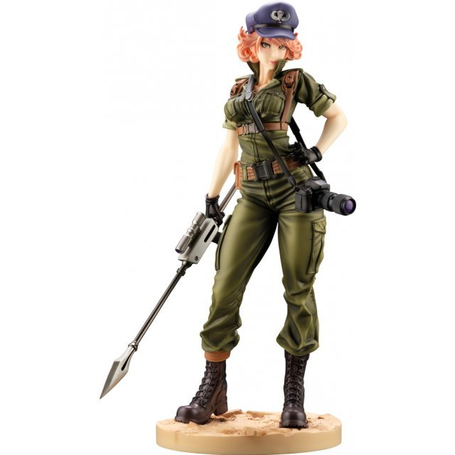 G.I. JOE Bishoujo G.I. Joe 1/7 Scale Pre-Painted Figure: Lady Jaye