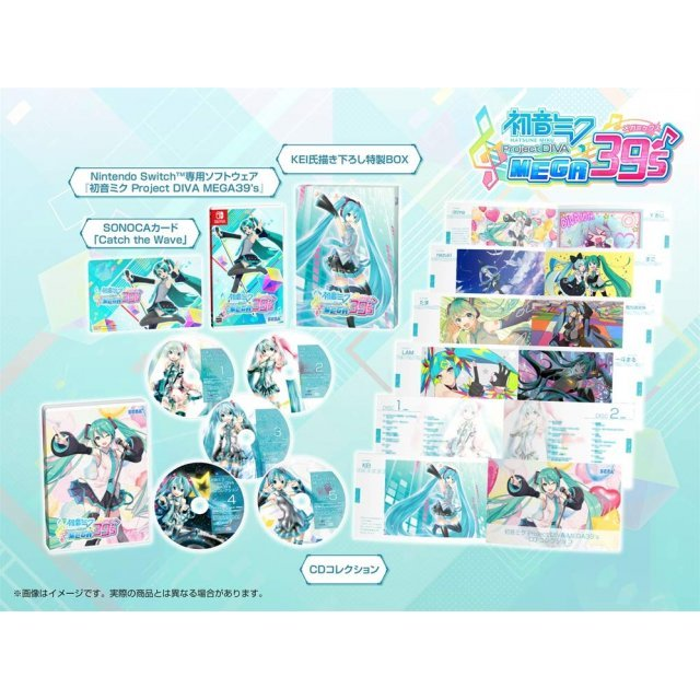 Hatsune Miku: Project Diva Mega39's (10th Anniversary Collection) [Limited Edition] (Chinese Subs)
