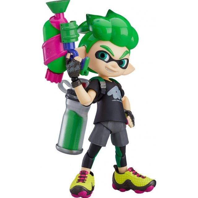 figma No. 462-DX Splatoon: Splatoon Boy DX Edition
