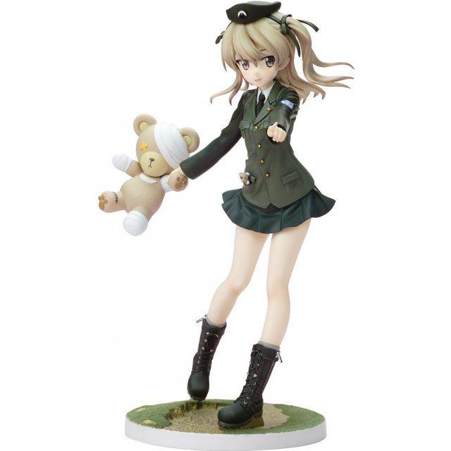 Girls und Panzer der Film Dream Tech 1/8 Scale Pre-Painted Figure: Alice Shimada Panzer Jacket Ver.