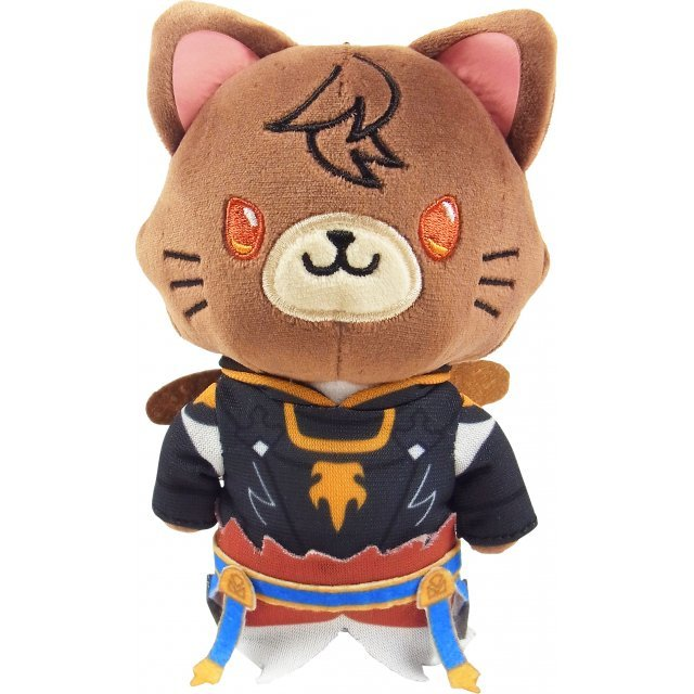 Granblue Fantasy with Cat Plush Keychain with Eye Mask: Sandalphon