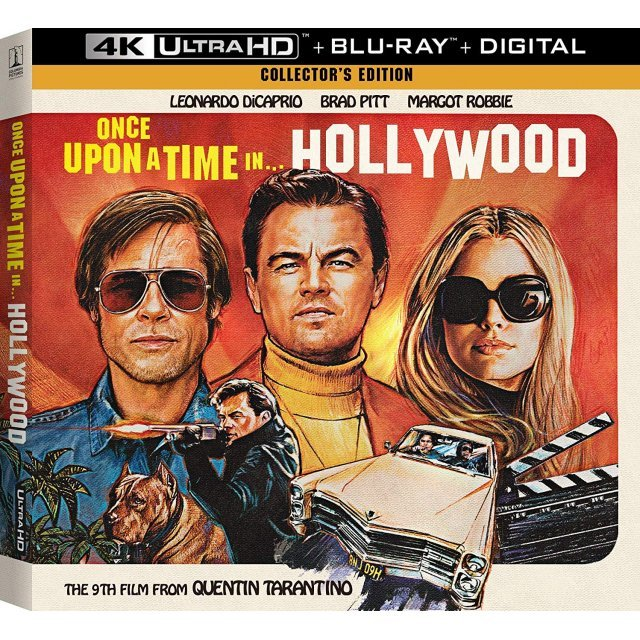 Once Upon A Time In Hollywood [Collector's Edition] [4K Ultra HD Blu-ray]