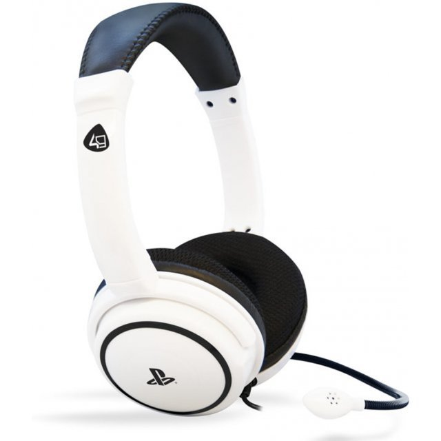PRO4-40 Stereo Gaming Headset for PlayStation 4 (White)