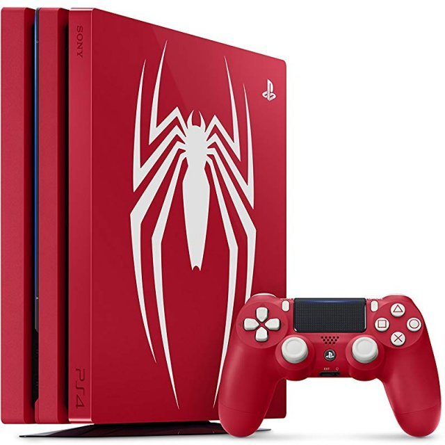 PlayStation 4 Pro 1TB HDD [Marvel's Spider-Man Limited Edition]