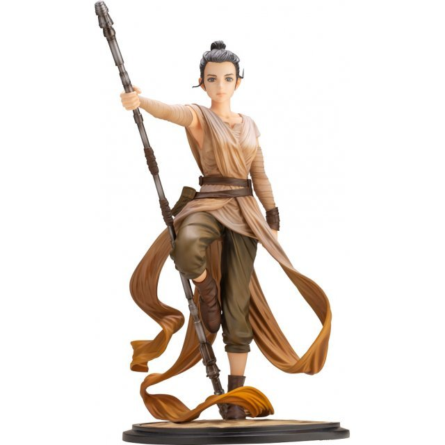 ARTFX Artist Series Star Wars The Force Awakens 1/7 Scale Pre-Painted Figure: Rey -Descendant of Light-