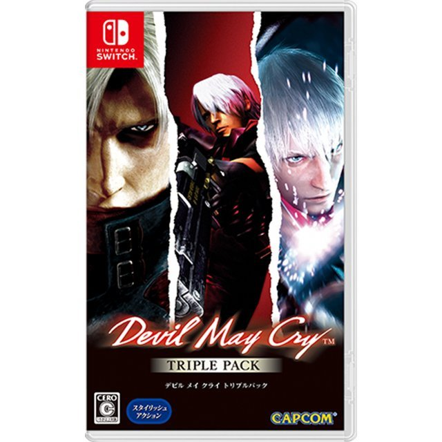 Devil May Cry Triple Pack [Multi-Language]