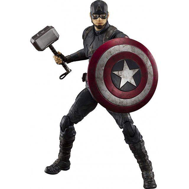 S.H.Figuarts Avengers Endgame: Captain America -Final Battle Edition-