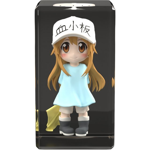 Cells at Work! Full Color 3D Crystal Figure: Platelet
