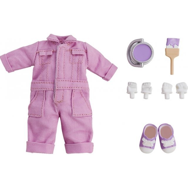 Nendoroid Doll: Outfit Set (Colorful Coverall - Purple)