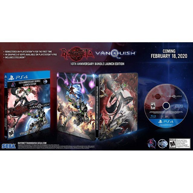 Bayonetta & Vanquish [10th Anniversary Bundle Launch Edition]