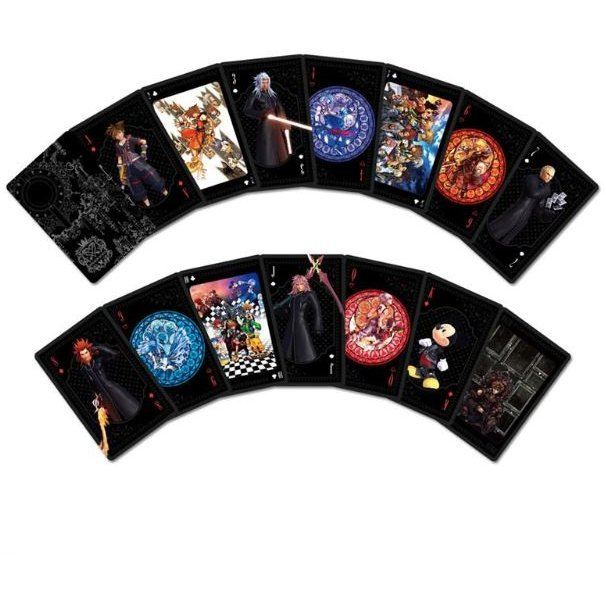 Kingdom Hearts Series Playing Cards