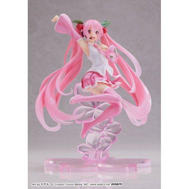 Vocaloid: Sakura Miku Figure A Jump Ver.