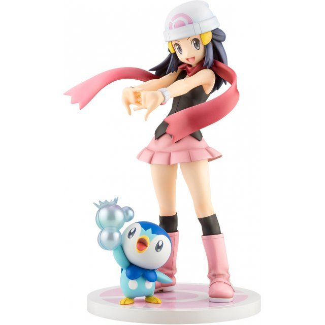 ARTFX J Pokemon Series 1/8 Scale Pre-Painted Figure: Dawn with Piplup