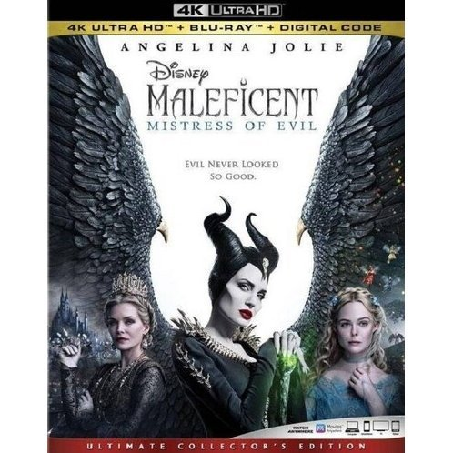 Maleficent: Mistress Of Evil [4K Ultra HD Blu-ray]