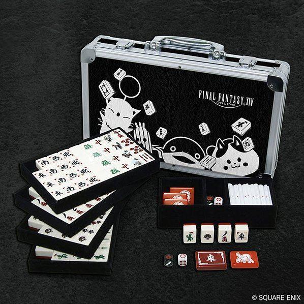 Final Fantasy XIV Doman Mahjong Set