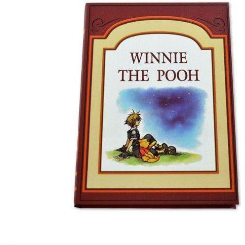 Kingdom Hearts II Book Storage Box 100 Acre Wood: Sora And Winnie-the-Pooh