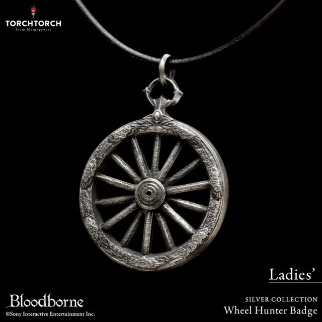 Bloodborne Torch Torch Silver Collection: Wheel Hunter Badge (Ladies)