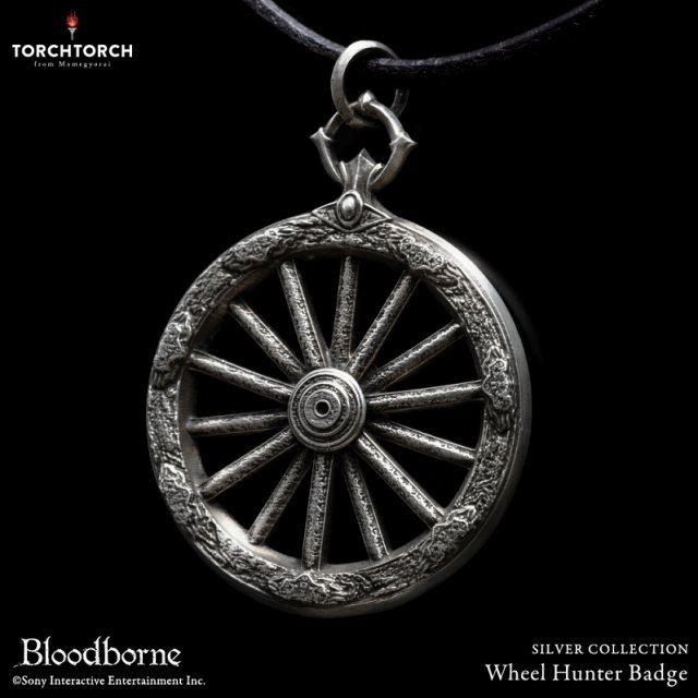 Bloodborne Torch Torch Silver Collection: Wheel Hunter Badge (Regular)
