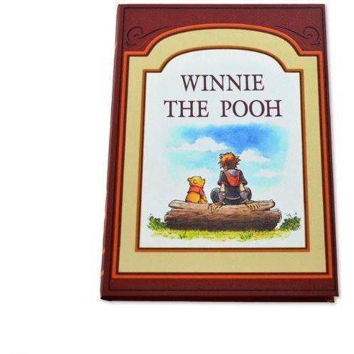 Kingdom Hearts III Book Storage Box 100 Acre Wood: Sora And Winnie-the-Pooh