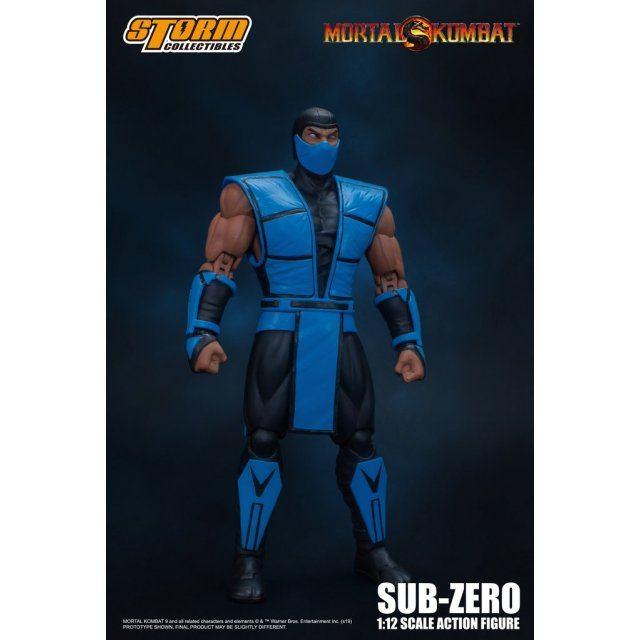 Mortal Kombat 1/12 Scale Pre-Painted Action Figure: Sub-Zero