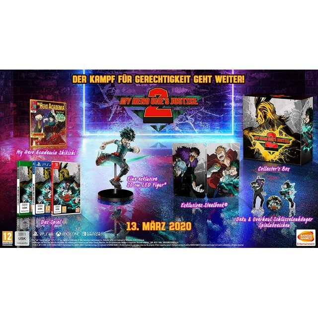 My Hero One's Justice 2 [Collector's Edition]
