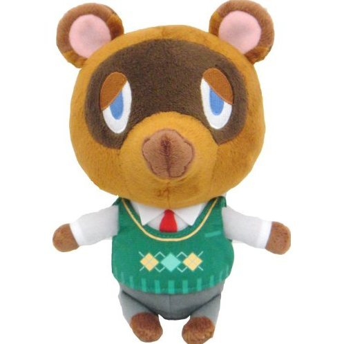 Animal Crossing All Star Collection Plush: DP03 Tom Nook (S)