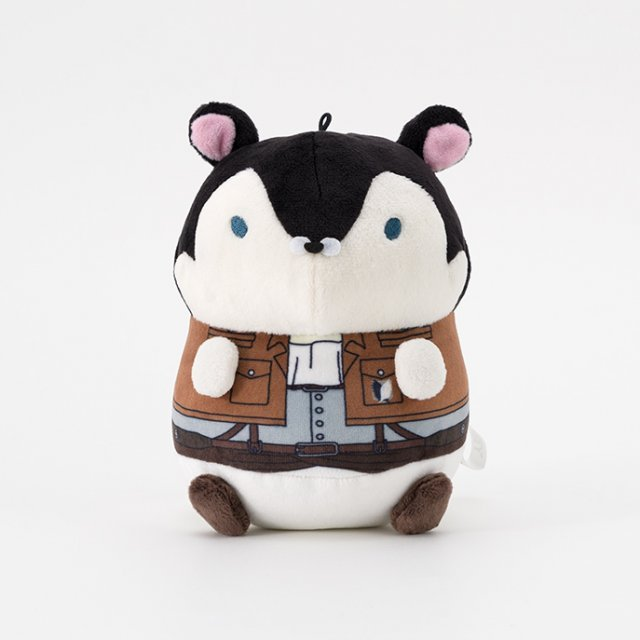 Mochimochi Hamster Collection Attack on Titan Plush: Levi