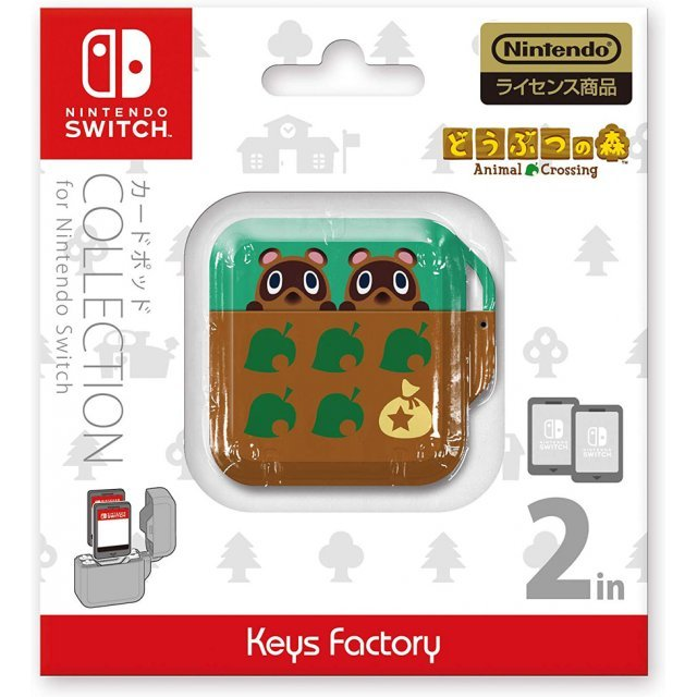 Animal Crossing Card Pod Collection for Nintendo Switch (Type-A)