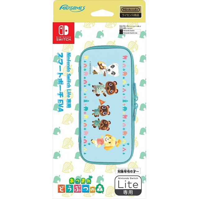 Animal Crossing Smart Pouch EVA for Nintendo Switch Lite