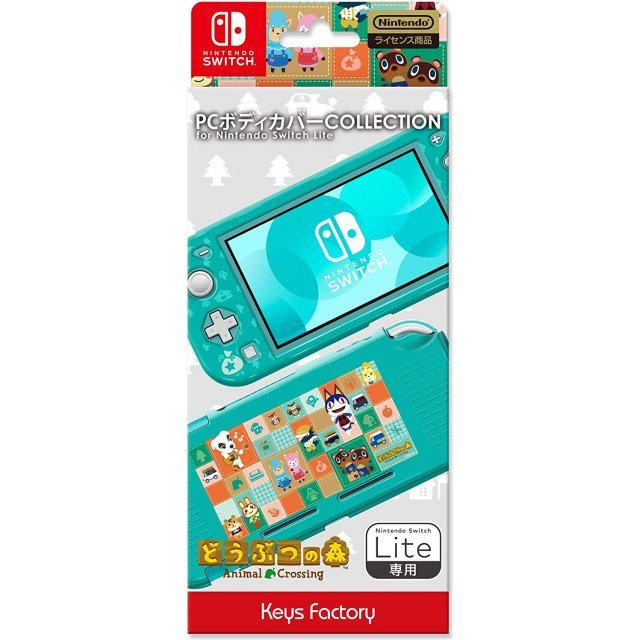 PC Body Cover Collection for Nintendo Switch Lite (Animal Crossing)