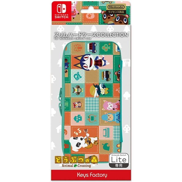Slim Hard Case Collection for Nintendo Switch Lite (Animal Crossing)