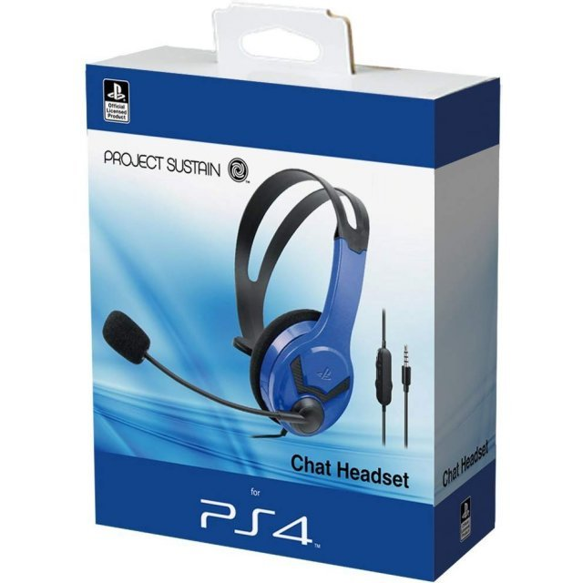 Chat Headset for PlayStation 4 (Blue)