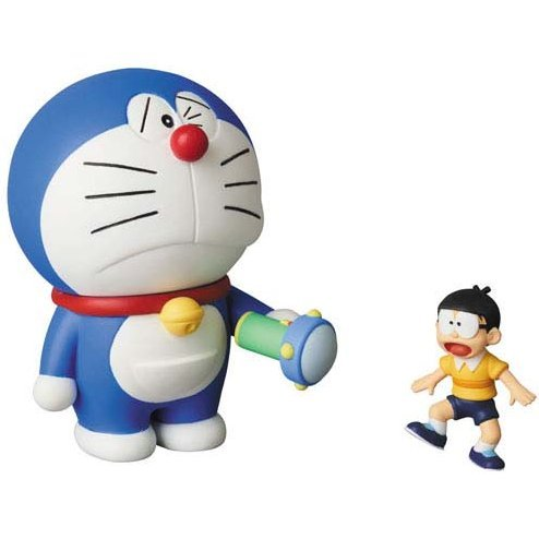 Ultra Detail Figure No. 551 Fujiko F Fujio Works Series 14 Doraemon: Doraemon & Nobita (Small Light)