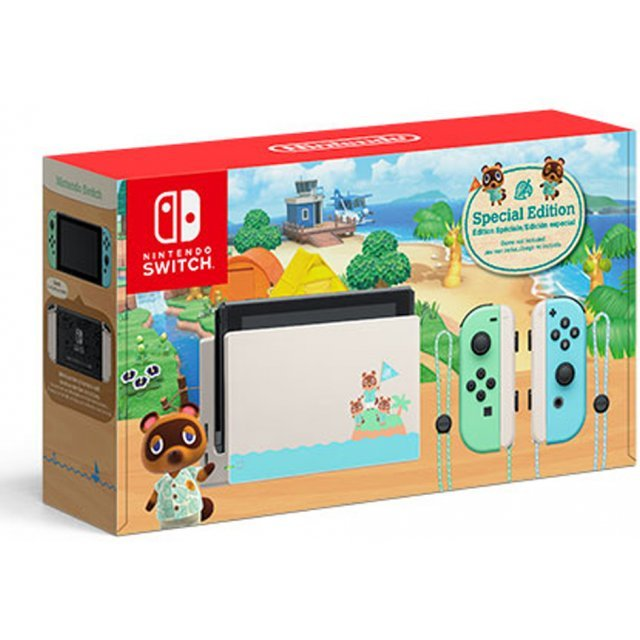 Nintendo Switch (Animal Crossing: New Horizons) [Limited Edition]