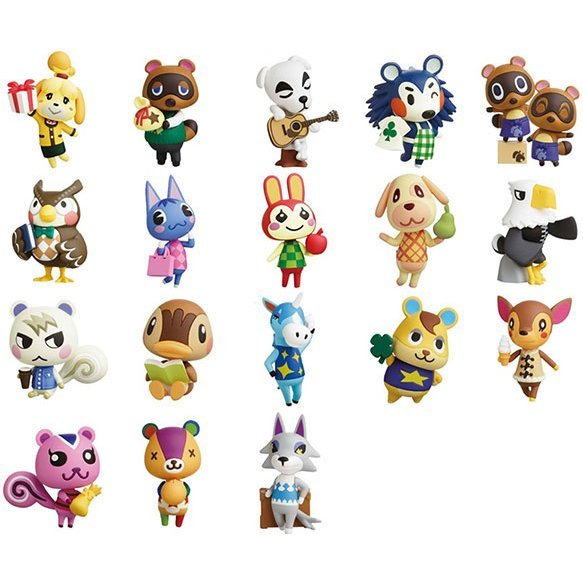 Choco Egg Animal Crossing (Set of 10 pieces)