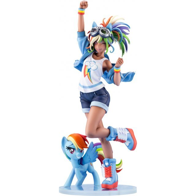 My Little Pony Bishoujo 1/7 Scale Pre-Painted Figure: Rainbow Dash