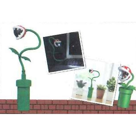 Super Mario Pakkun Flower USB Stand Light